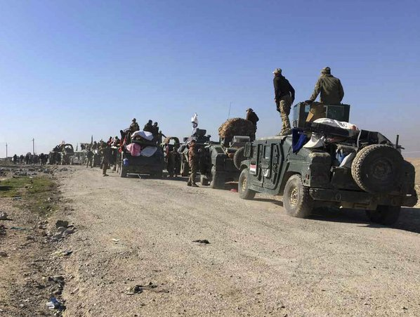Iraqi forces capture Mosul airport from ISIL