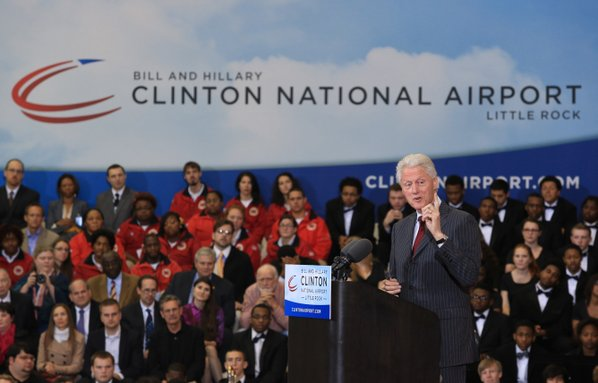 Arkansas lawmaker wants airport named after the Clintons renamed