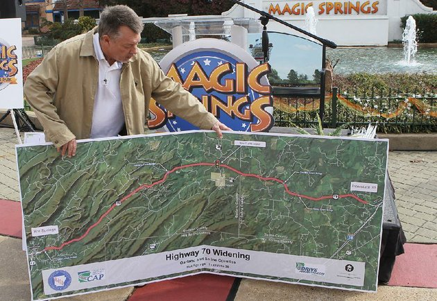 785M project to widen US 70 stirs Arkansas tourism concerns