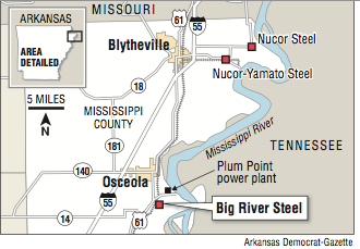 Grand Opening Today For Big River Steel Mill