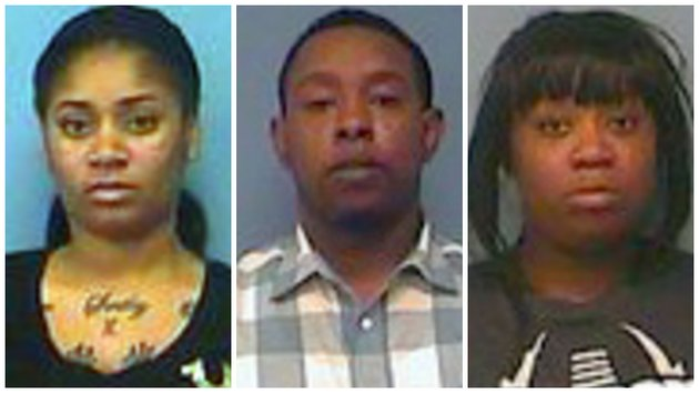 Three arrested in arkansas with dozens of fake credit for Quentin domon