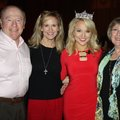 Miss America Savvy Shields (second from right) is joined by family members Don Shields, Karen Shiel...