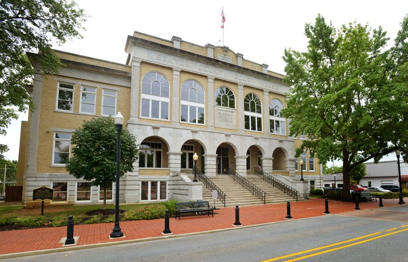 Budget, courts talk go before Benton County Quorum Court