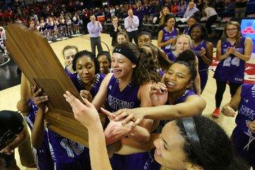 Fayetteville players celebrate ...