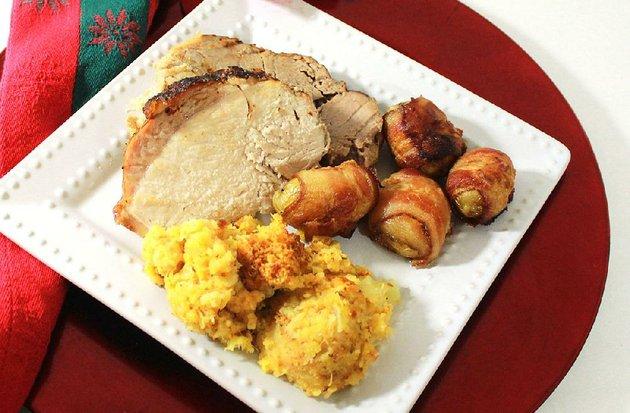 apple-glazed-pork-loin-roast-with-pineapple-stuffing