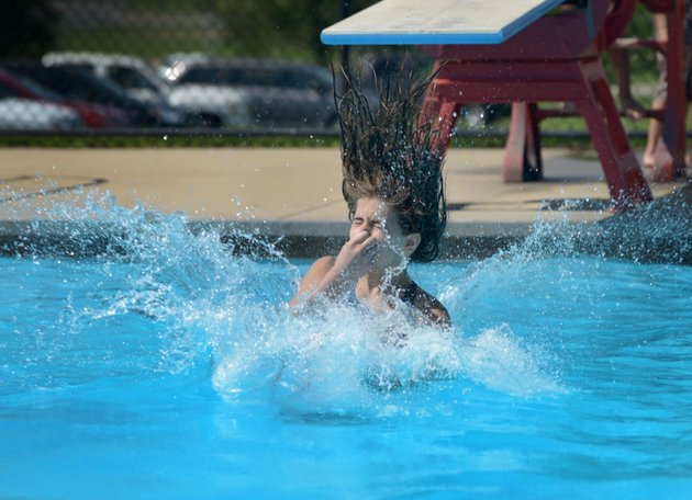 Bentonville aquatic center renovation underway for Bentonville pool