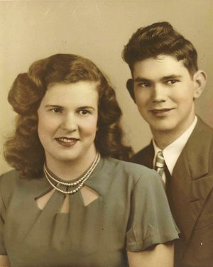 "Jean and Joe Overturf met at a junior high school football game in North Little Rock in 1946, and their first date was to a high school game a couple of weeks later. ""We have loved each other through the years,"" Joe says."