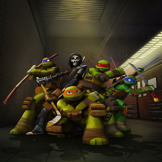 tales-of-the-teenage-mutant-ninja-turtles-on-nickelodeon-with-donatello-casey-jones-michaelangelo-raphael-and-leonardo