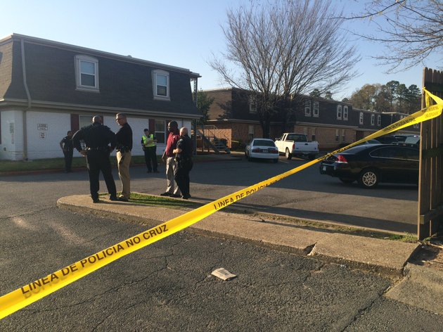 little-rock-police-investigating-after-a-teenager-was-shot-during-a-carjacking-at-an-apartment-complex-at-6200-colonel-glenn-road-on-monday-march-20-2017