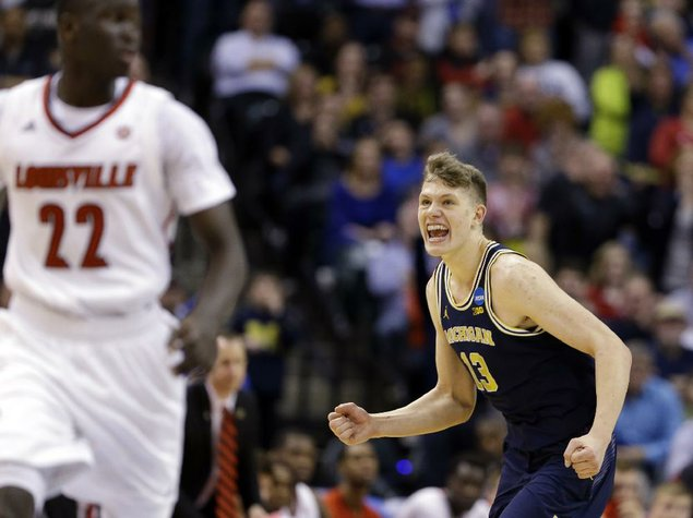 What time does Michigan Wolverines basketball play OR in Sweet 16?