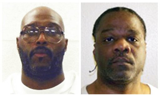 this-combination-of-undated-file-photos-provided-by-the-arkansas-department-of-correction-shows-death-row-inmates-stacey-e-johnson-left-and-ledell-lee-both-men-are-scheduled-for-execution-april-20