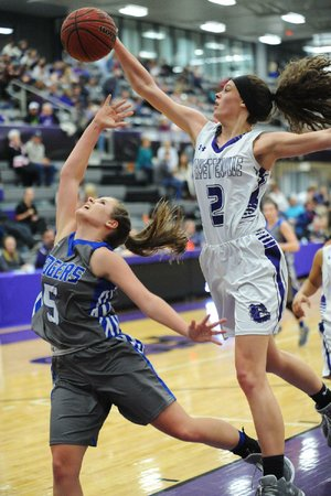 Sasha Goforth caught the eye of Fayetteville Coach Vic Rimmer last season as an eighth-grader. This season as a freshman, she averaged 13.1 points per game on the varsity level, including 19 in the Class 7A championship game.