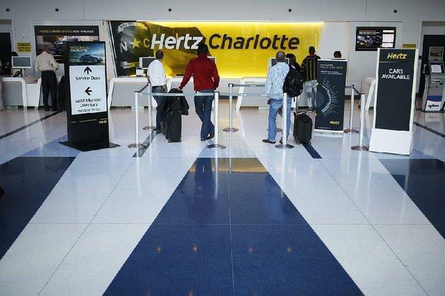 Hertz Rental Car At Charlotte Nc Airport