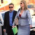 Randell Shelton Jr. (left), with his attorney Shelly Koehler of Fayetteville, walks Tuesday into the...