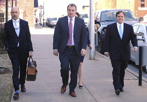 Former Arkansas senator pleads not guilty in fraud case