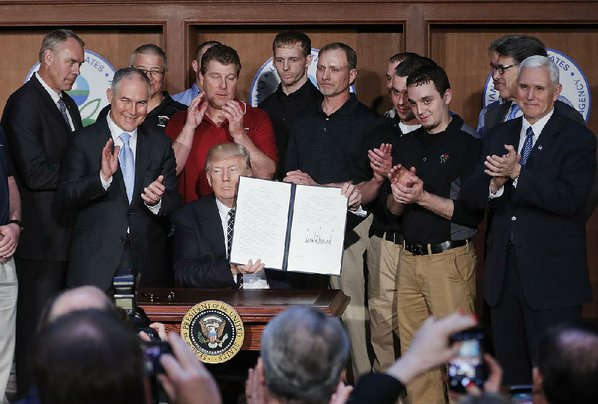 Trump administration seeks delay in ruling on climate plan