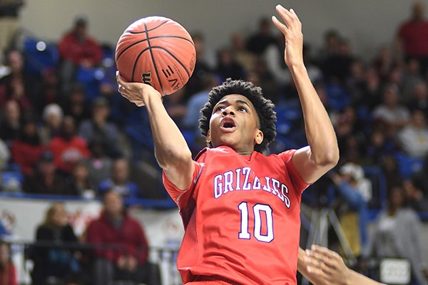 fort-smith-northside-guard-isaiah-joe-10-goes-for-a-basket-during-the-7a-boys-state-championship-basketball-game-against-north-little-rock-at-bank-of-the-ozarks-arena-on-satuday-march-11-2017-in-hot-springs