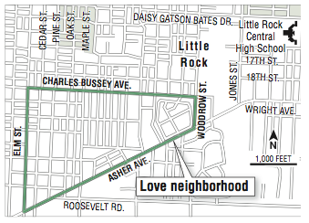 Little Rock Showing Some Love To Love Neighborhood  NWADG