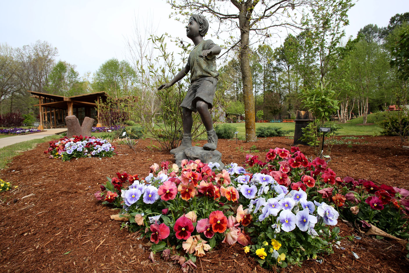 Botanical Garden In Fayetteville Growing With Popularity Nwadg