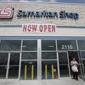 The Rogers Samaritan Shop's new location at 2115 W. Walnut in Rogers.