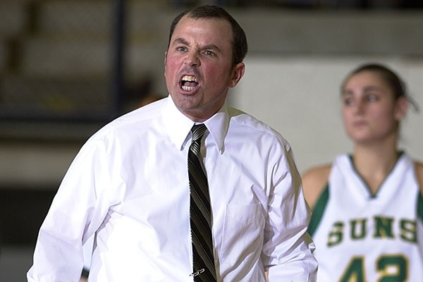 Arkansas Tech coach Todd Schaefer reacts to a call during a game against Delta State on Jan. 25, 2007, in Russellville. Following his tenure at Arkansas Tech, Schaefer had assistant coaching jobs at Cincinnati, Arkansas State, Ole Miss and Washington.