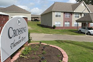 The Sentinel-Record/Richard Rasmussen SERVICE DENIED: The Hot Springs Board of Directors put the development of the second phase of the Crossing at Thornton Ferry apartment complex on hold Tuesday night.