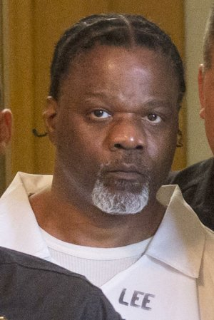 Ledell Lee is shown at Pulaski County Circuit Court in this photo.
