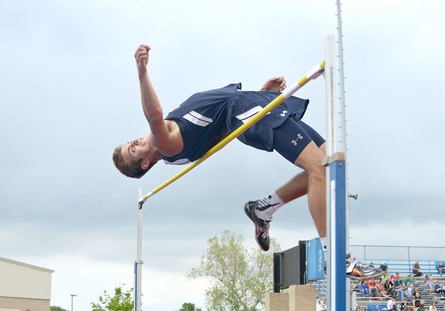 seth-stanley-of-rogers-heritage-attempts-to-high-jump-the-bar-at-6-feet-2-inches-thursday-during-the-mcdonald-relays-at-fort-smith-southside