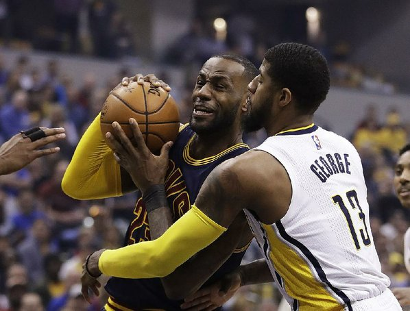 LeBron sparks Cavs to complete playoff sweep of Pacers