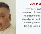 Jack Jones lethal injection timeline