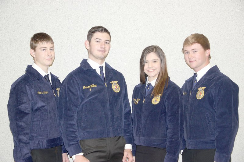 35eb7ee00ab4 LYNN KUTTER ENTERPRISE-LEADER Prairie Grove's FFA Livestock Judging  Team finished first in the State Career Development Final Competition, ...