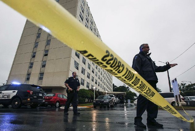 High Rise Apartment Inside 1 killed in shooting inside high-rise apartment across from little