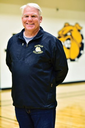 Tim Hooten, 52, led the Quitman Lady Bulldogs to the school's first basketball state title in school history.
