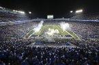 Kentucky fans fill Commonwealth Stadium before an NCAA college football game against Georgia Saturday, Nov. 5, 2016, in Lexington, Ky. Georgia won 27-24. (AP Photo/David Stephenson)