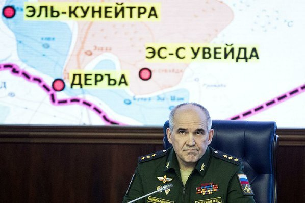 Russian Federation  says Syria de-escalation deal takes effect at midnight