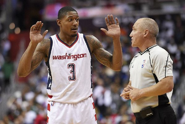 Washington Wizards guard suspended for charging at Celtics center