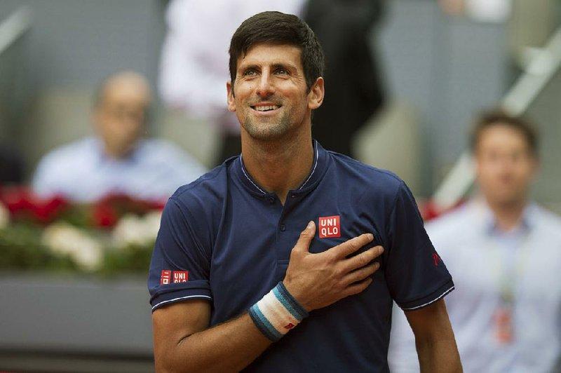 Peak Djokovic Hair Talk Tennis