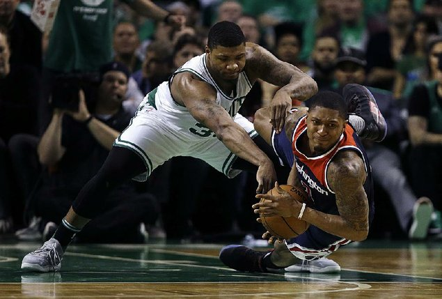 Boston Celtics take Game Seven against the Washington Wizards 115-105