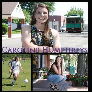 Terrance Armstard/News-Times El Dorado's Caroline Humphreys is a finalist for 2017 Nexans AmerCable/News-Times Female Scholar-Athlete of the Year. Humphreys played soccer for the Lady Wildcats while maintaining a 4.0 grade point average. The Nexans AmerCable/News-Times Scholar-Athlete Awards Banquet will be held May 25.