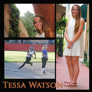 Terrance Armstard/News-Times Smackover's Tessa Watson is a finalist for 2017 Nexans AmerCable/News-Times Female Scholar-Athlete of the Year. Watson played softball for the Lady Bucks while maintaining a 4.163 grade point average. The Nexans AmerCable/News-Times Scholar-Athlete Awards Banquet will be held May 25.