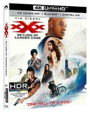 XXX: Return of Xander Cage, directed by D.J. Caruso