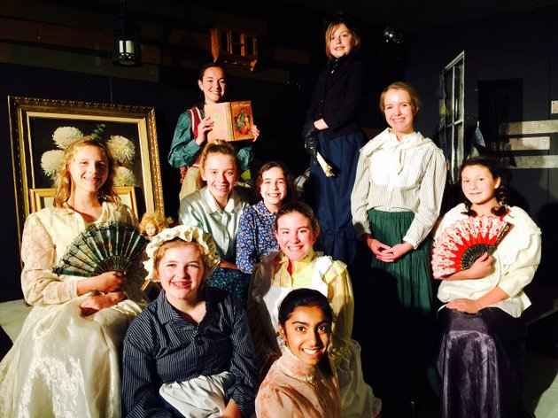 the-arts-live-theatre-little-women-cast-includes-top-madison-gates-harley-white-second-row-jessica-bylak-jennings-hix-astrid-allen-lucie-taylor-isabelle-moss-third-row-nola-bradley-audra-shaver-front-row-and-jaya-sharma