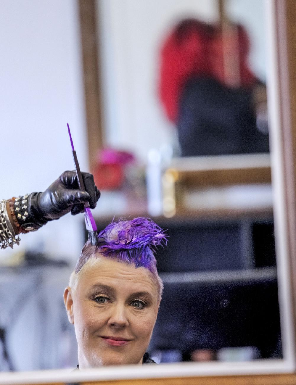 Technicolor Tresses Crazy Bold Hair Color Is All The Rage