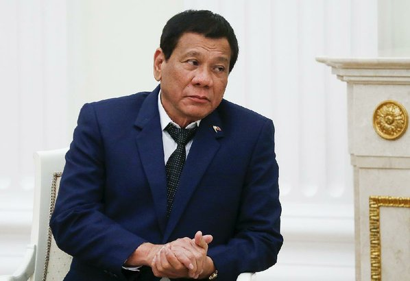 Philippines' Duterte leaves for 4-day visit to Russia
