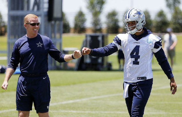 He's got the reps: Prescott takes off-season lead for Cowboys