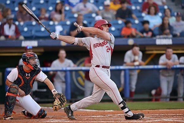 Arkansas first baseman ...