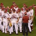 Arkansas takes on Mississippi State Friday, May 26, 2017, during game fourteen of the SEC Tournament...