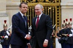 French President Emmanuel ...