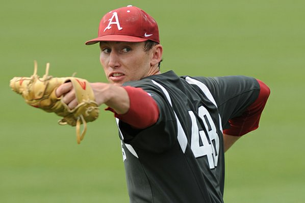 Spanberger leading hot-hitting Arkansas into NCAA tourney