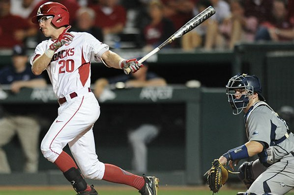 Missouri State sends Hogs to elimination game